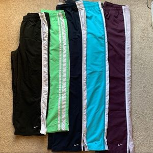 Bundle of 5 Nike Pants / Capris